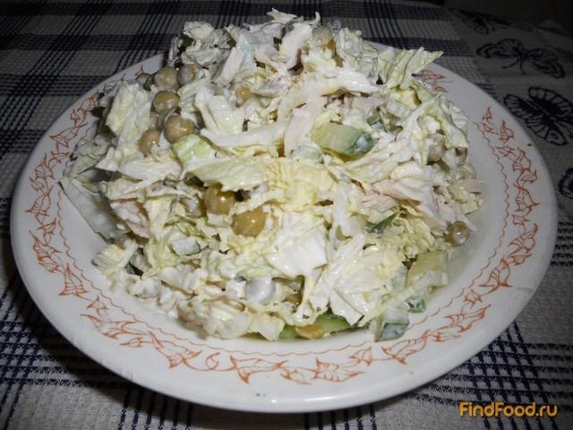 салаты с курочкой рецепты с фото