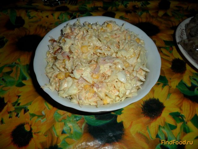 Салат с копченой курицей в домашних условиях