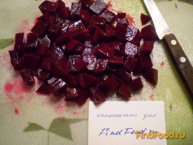 Салат из свеклы и фасоли рецепт с фото 2-го шага