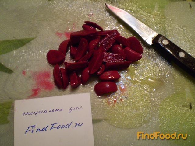 рецепты салатов из свеклы и фасоли