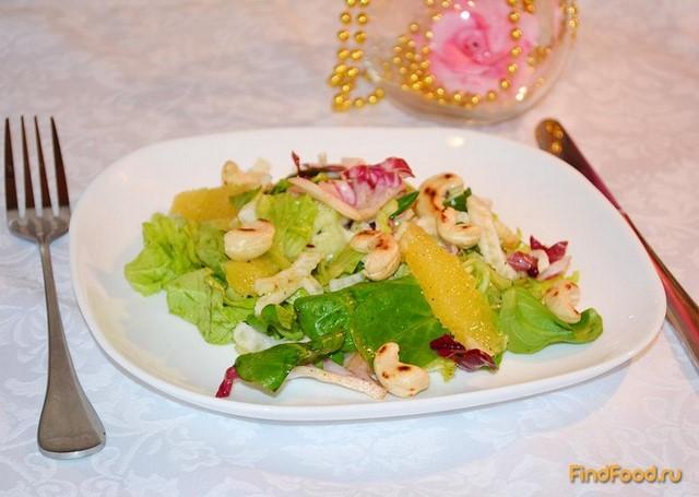 Салат с сырым фенхелем