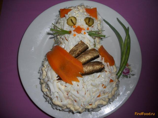 рыбацкая удача салат
