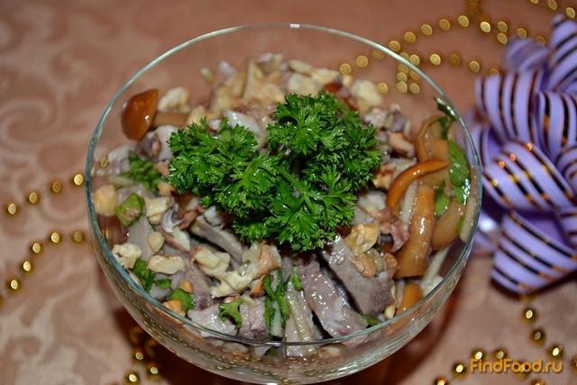 салаты с свиным языком рецепты