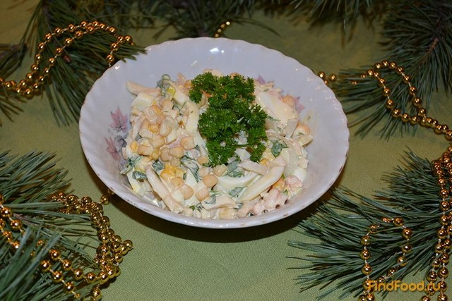 Салат Морской бриз рецепт