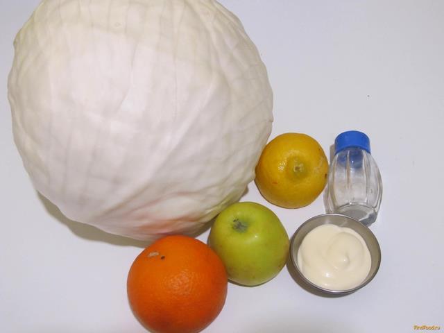 салат по французски рецепт с апельсином