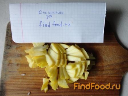 Салат из редьки с мандарином рецепт с фото 3-го шага