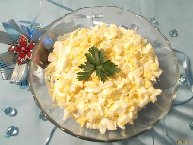 Рецепт салата из сайры консервированной