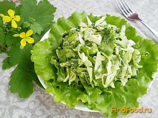 Рецепт Салат с крапивой рецепт с фото
