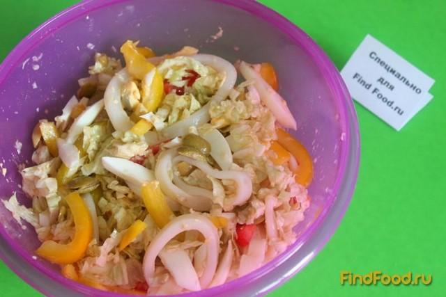 Фото заморский салат