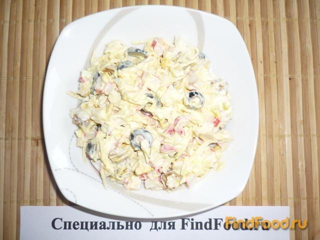 Салат с сухариками без майонеза рецепт с