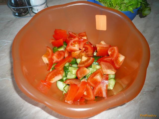 Рецепты диетических овощных салатов с фото