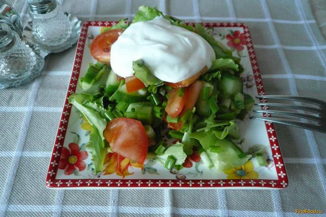 Рецепт Диетический овощной салат рецепт с фото