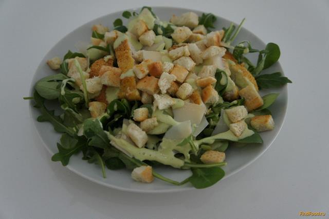 рецепт диетического цезаря с курицей
