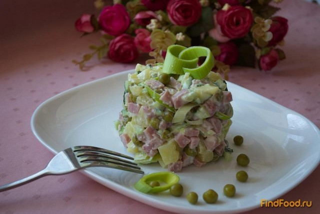 Рецепт Салат Виктория рецепт с фото