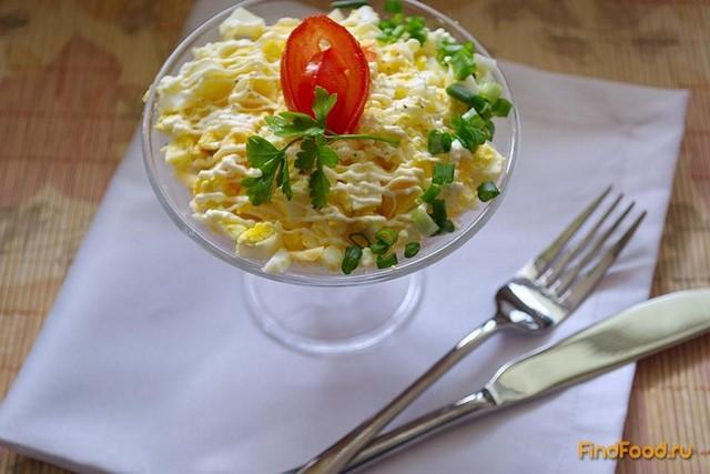 Рецепт Салат Морской бриз с горбушей рецепт с фото