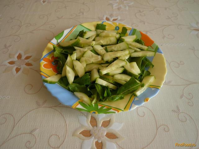 Салат с палтусом рецепт с фото 3-го шага