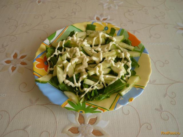 Салат с палтусом рецепт с фото 4-го шага