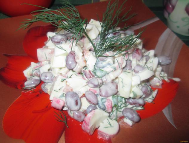 с фасолью салат с фото