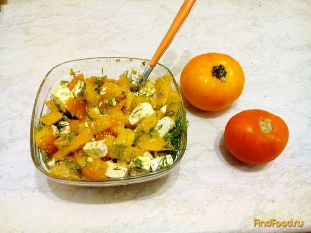 Рецепт Легкий салат с овечьей брынзой рецепт с фото