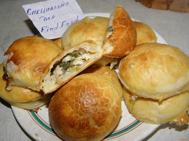 Рецепт Пирожки с курицей и грибами рецепт с фото
