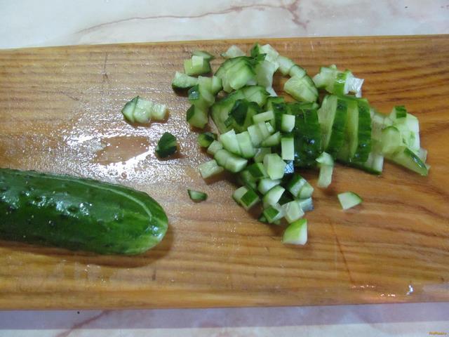 Салат воздушный рецепт с фото 3-го шага