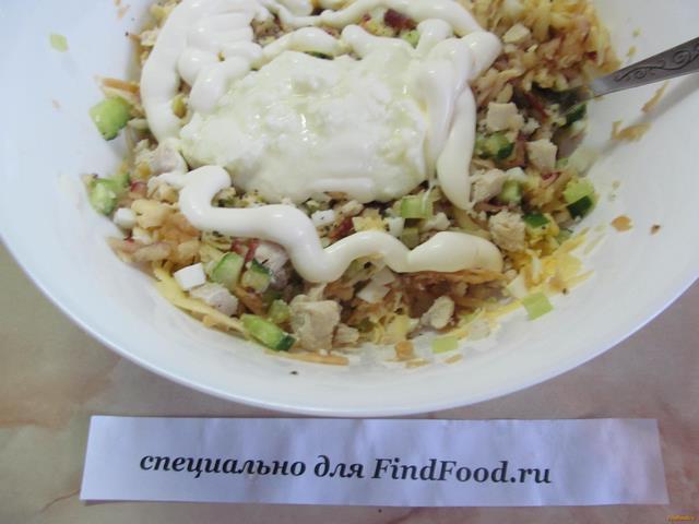 Салат воздушный рецепт с фото 8-го шага