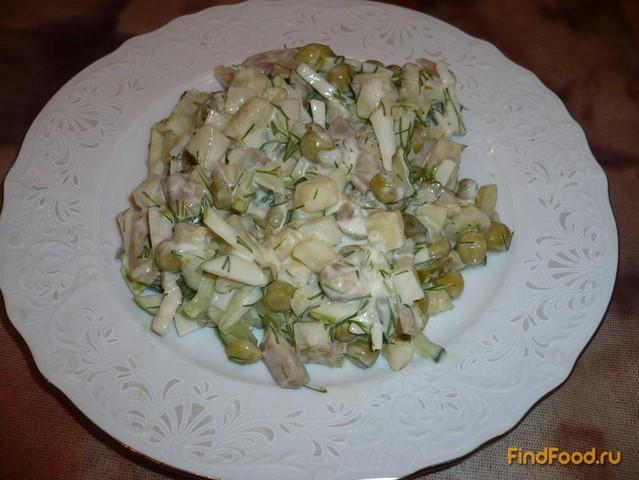 Рецепт Вегетарианский оливье рецепт с фото