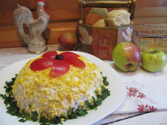 Рецепт Салат из говяжьего сердца рецепт с фото