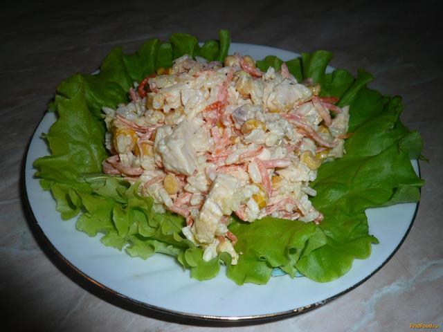 Рецепт Салат Пикантный с куриной грудкой и морковью по-корейски рецепт с фото