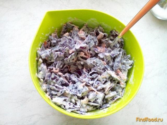 Рецепт Капустный салат с нежной заправкой рецепт с фото