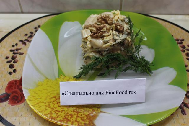 Рецепт Салат Милан рецепт с фото