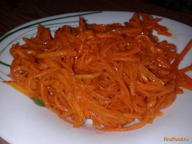 Рецепт Домашняя корейская морковь рецепт с фото