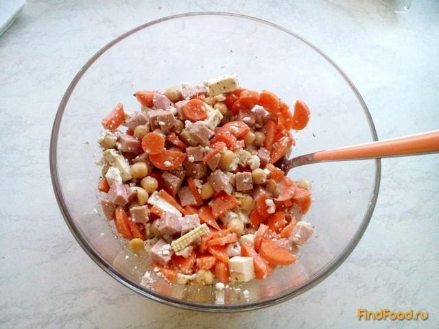 Рецепт Белковый салат с кунжутом рецепт с фото