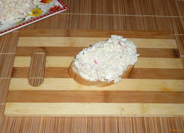 Рецепт Нежный салат из крабового мяса рецепт с фото
