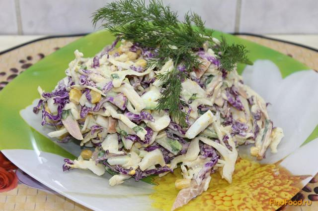 Рецепт Зимний салатик рецепт с фото