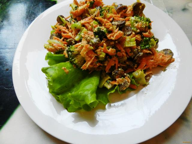 Рецепт Горячий салат Сердце рецепт с фото