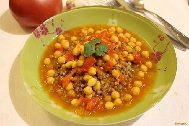 Рецепт Томатный соус с нутом рецепт с фото