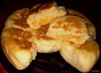 Рецепт Булочки с консервированными персиками рецепт с фото