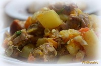 Рецепт Рагу с кабачками и свининой рецепт с фото