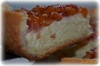 Рецепт Торт Нежнейший с черешней под желе рецепт с фото