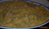 Рецепт Гороховая каша с тушенкой рецепт с фото