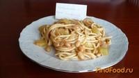 Рецепт Спагетти с кабачком и фасолью рецепт с фото