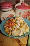Рецепт Курица с овощами в мультиварке рецепт с фото