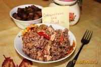 Рецепт Гречка с овощами и курицей в мультиварке рецепт с фото