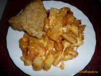 Рецепт Картошка с сыром рецепт с фото
