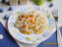 Рецепт Рис с овощами в мультиварке рецепт с фото
