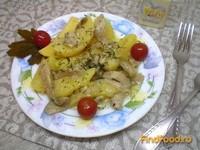 Рецепт Тушеный картофель с вешенками в мультиварке рецепт с фото