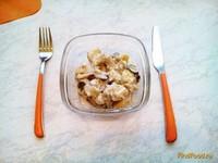 Рецепт Картофель с грибами в сметане в мультиварке рецепт с фото