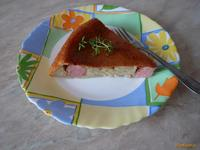 Рецепт Ленивый картофельный пирог с сосисками рецепт с фото