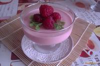 Рецепт Малиново-сметанное желе рецепт с фото
